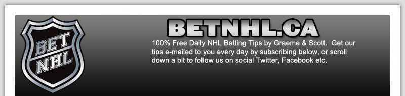 BetNHL.ca - NHL Live Betting Tips & Odds